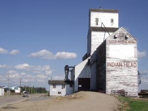 The grain elevator at Indian Head