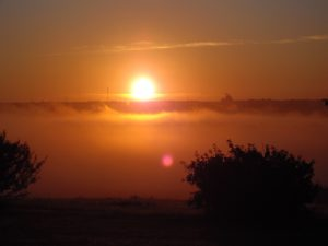sunset in Saskatchewan