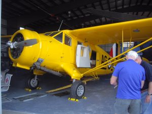Norseman bush plane like the one in Heart Like a Wing young adult novel